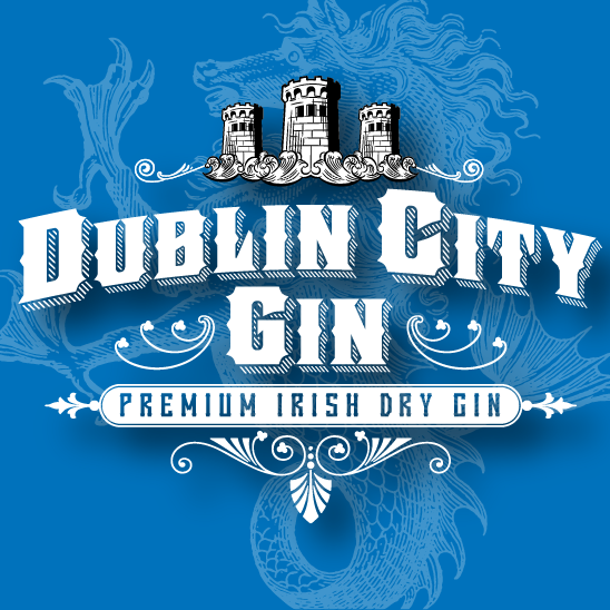 Dublin city gin logo 1