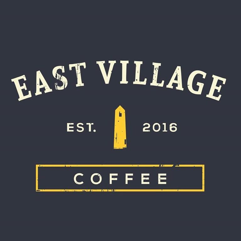 East Village Coffee logo 1 768x768