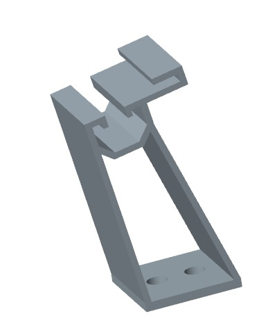 hdpe front racks bc 004f for supporting solar panels blow molding